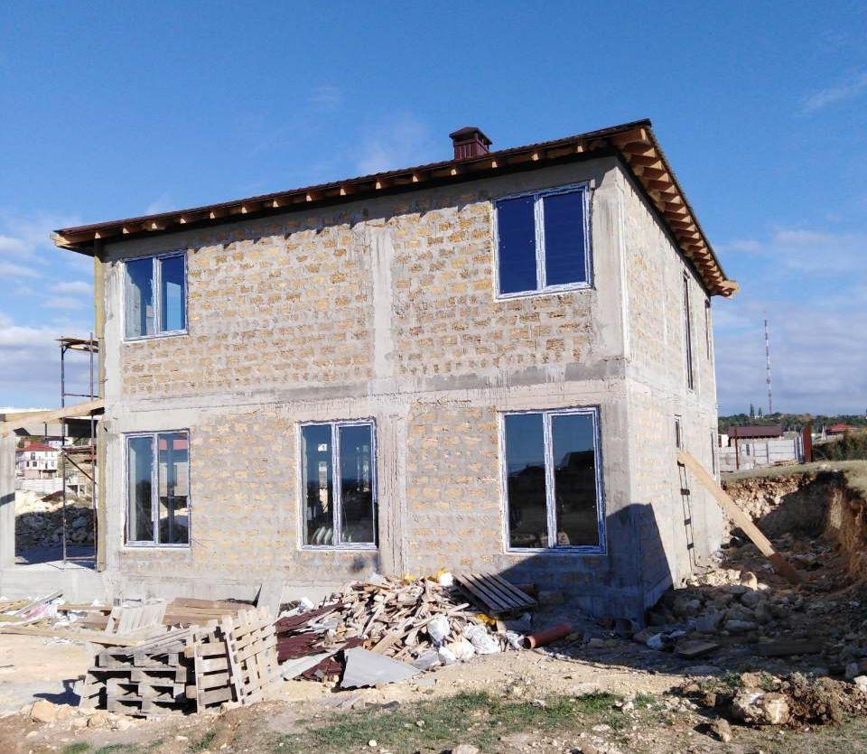 Остекление окнами ПВХ частного дома