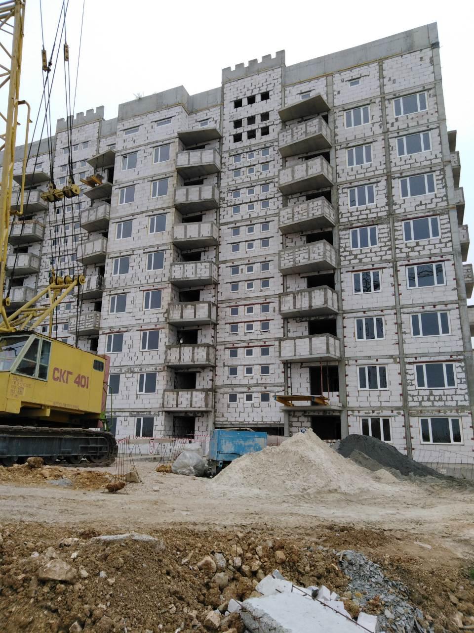 Остекление многоквартирного дома в Севастополе