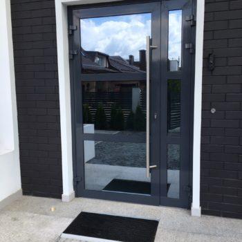 Алюминиевые двери от завода Интеграл