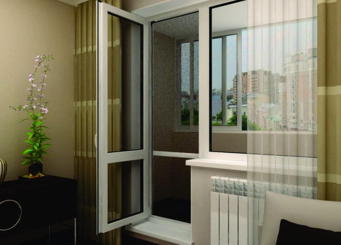Выбираем балконный блок